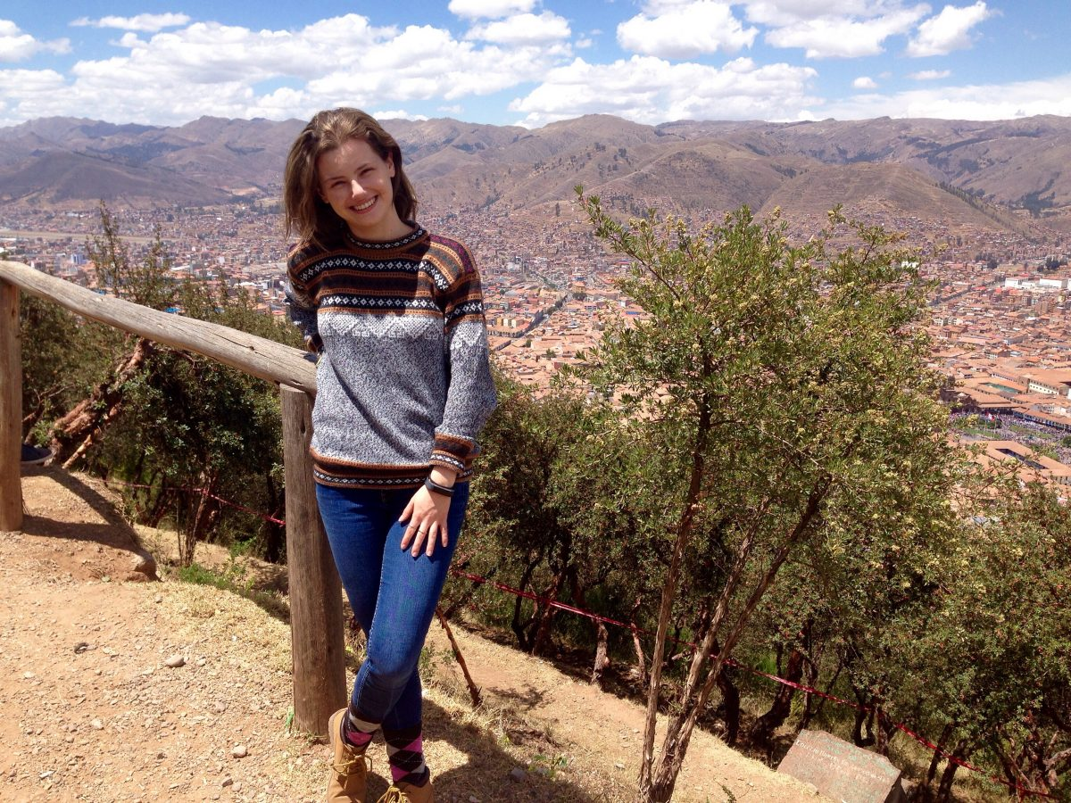 Emily Augenbraun in Peru, Fall 2018